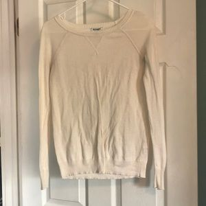 Old navy sweater- very cute!  Size XS